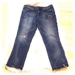 Mossimo high-rise straight jeans